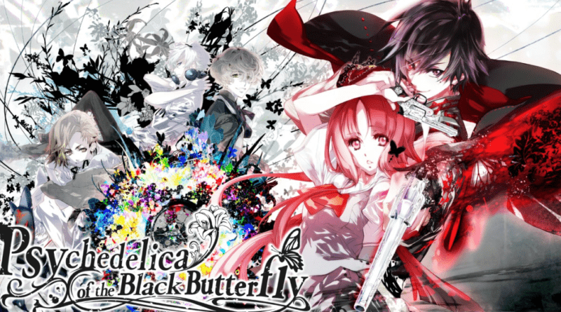 Psychedelica of the Black Butterfly logo